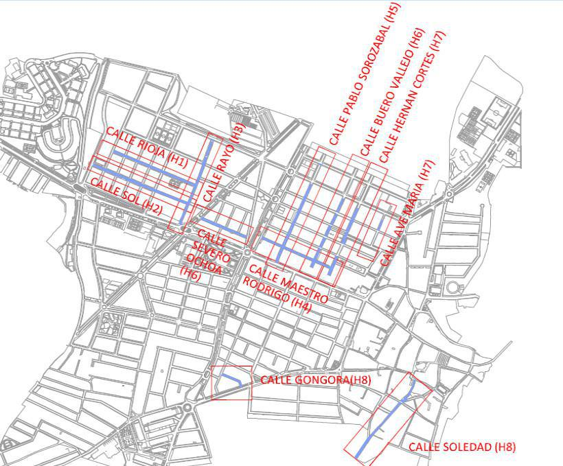 Aprobado un nuevo plan de reasfaltado de más de 22.000 m2 de calles