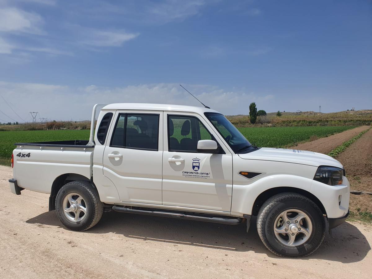 El Ayuntamiento adquiere un nuevo vehículo para el área de Agricultura y Medio Ambiente