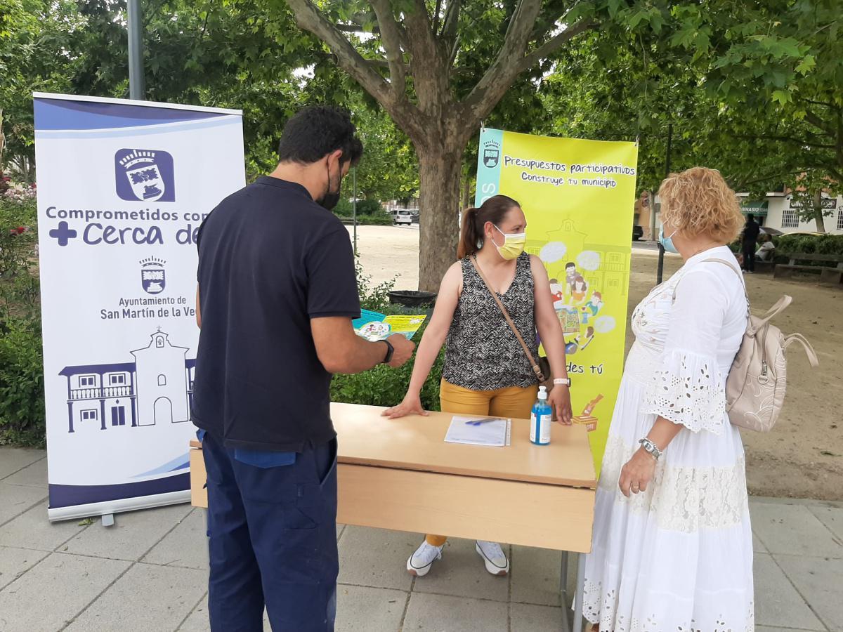 Los presupuestos participativos recogen 52 proyectos vecinales