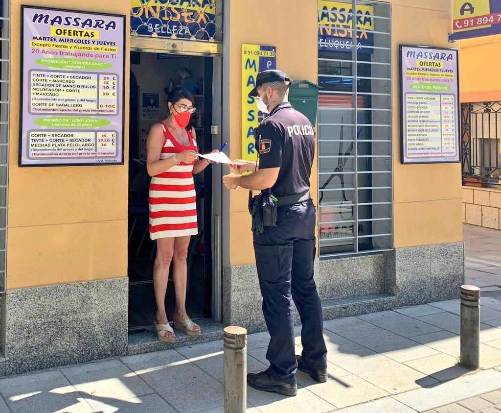 """La Policía Local pone en marcha el programa """"Vacaciones Seguras"""""""