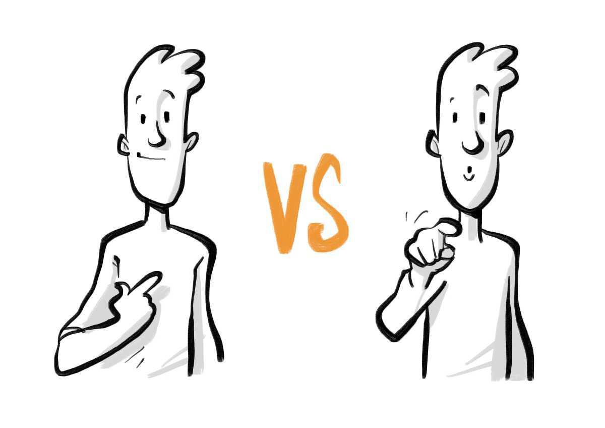 Feedback-Erfolgsfaktor 1/15: Ich-Aussage statt Du-Aussage