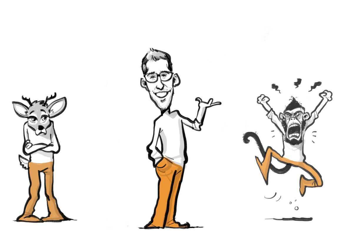Konflikt-Qualität: Ärgerst du dich günstig oder ungünstig und was hat das mit Reh und Gorilla zu tun?