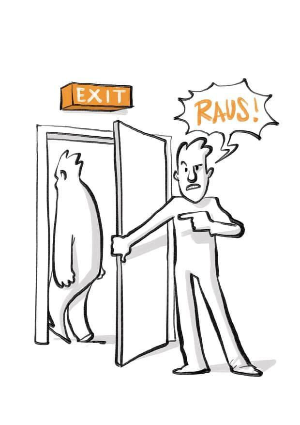 Positionieren: Loslassen, wenn es nichts mehr zu tun gibt (Phase 5)