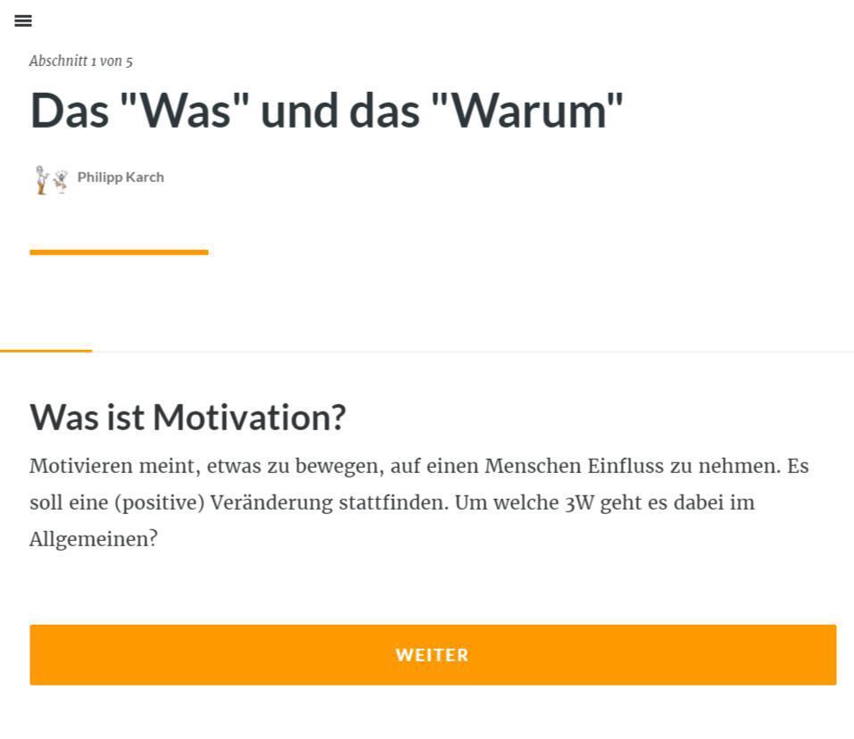 Menschen motivieren
