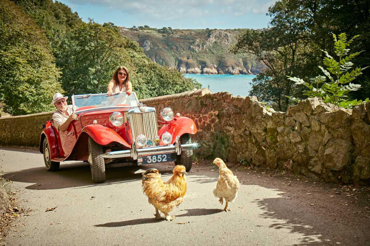 Driving in Guernsey
