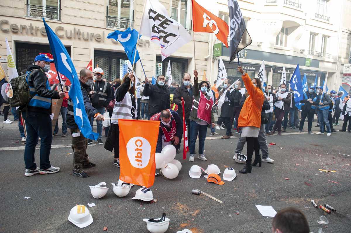 Manifestation du 02 mars 2021 - Sénatrice Sophie Taillé-Polian