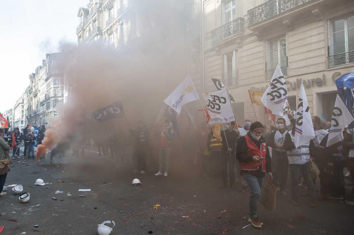 Photos de la manifestation du 02 mars 2021 - 3