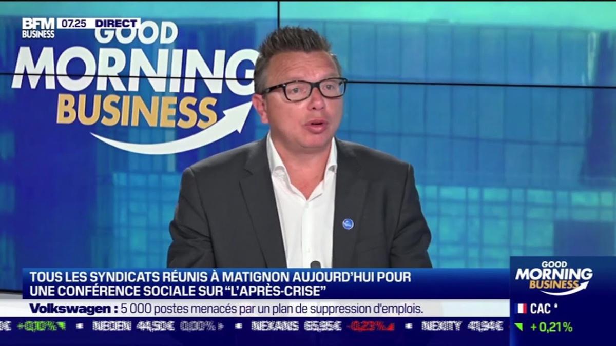 Assurance chomage, retraites : Cyril CHABANIER sur BFM BUSINESS