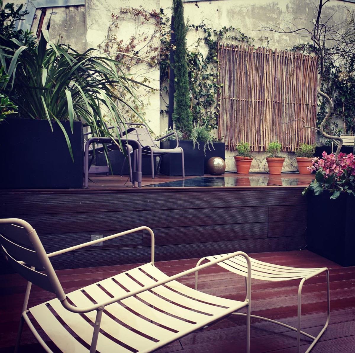 Terrasse secrète