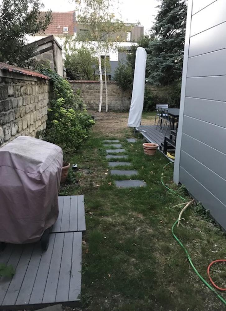 Réaménagement d'un jardin