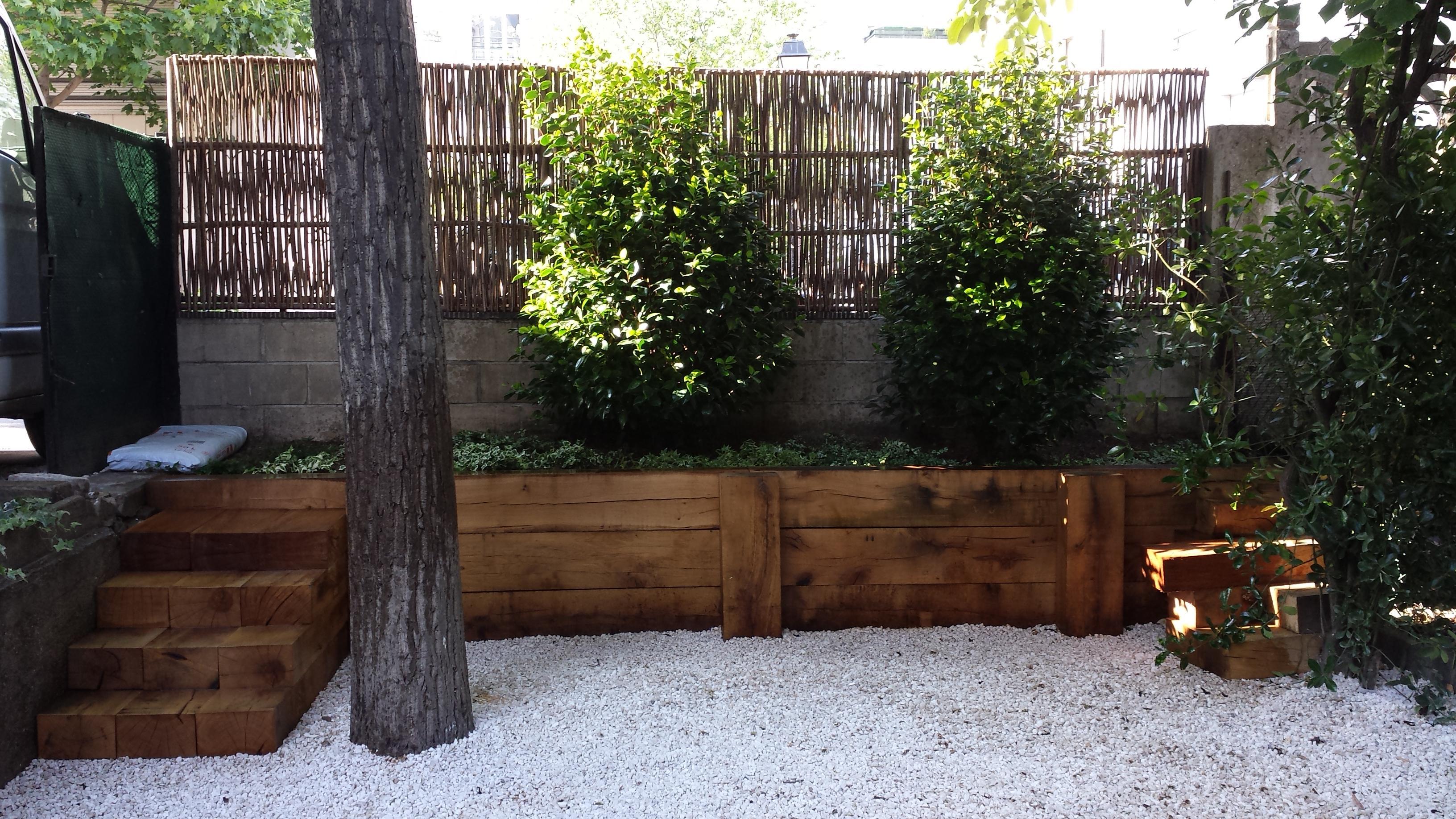 Réaménagement de jardin