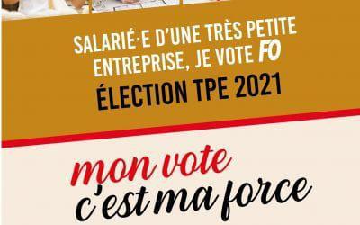 Elections TPE : une appli pour savoir quand et comment voter FO