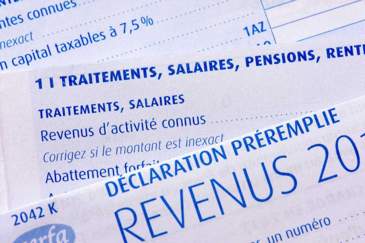 Déclarer ses revenus : Impôts 2021