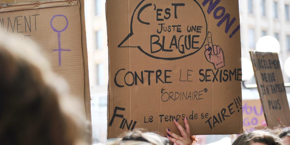 CMAF : Agir contre le Sexisme, c'est toute l'année