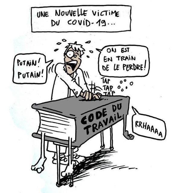 CM Anjou : Non à la remise en cause du code du travail, non aux sanctions !