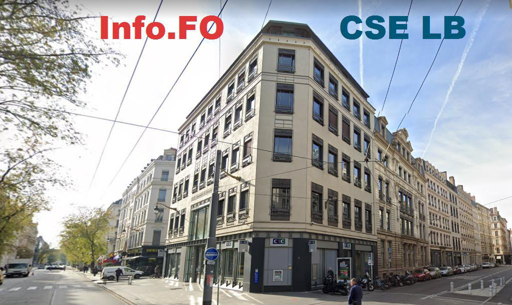 CIC LB : Info.FO CSE juillet 2021