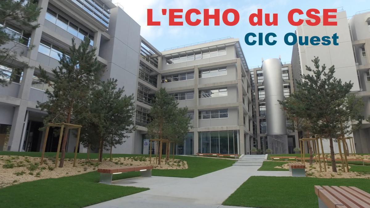 CIC Ouest : l'Echo du CSE 1er septembre 2021
