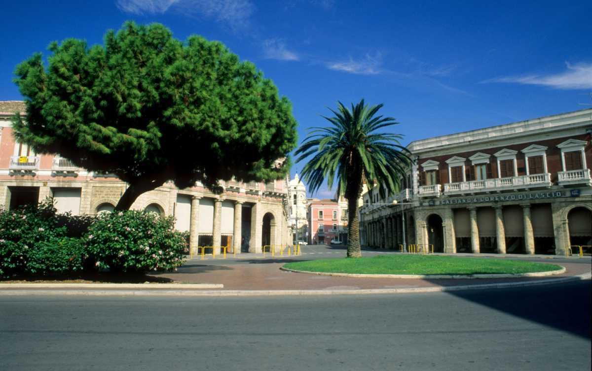 Crotone, Piazza Pitagora