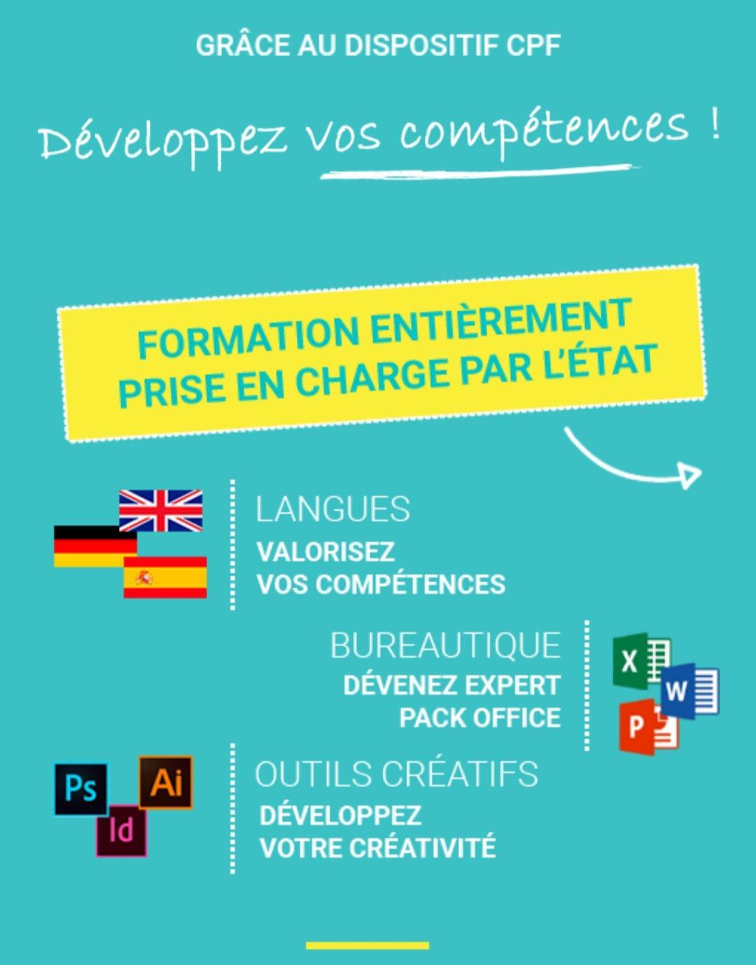 CPF Développez vos compétences!