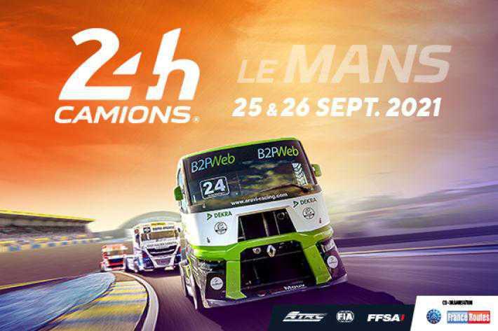 La FGT-CFTC au 24 Heures Camions le Mans 2021!