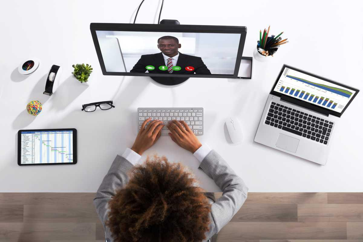 Your at-home video call conference
