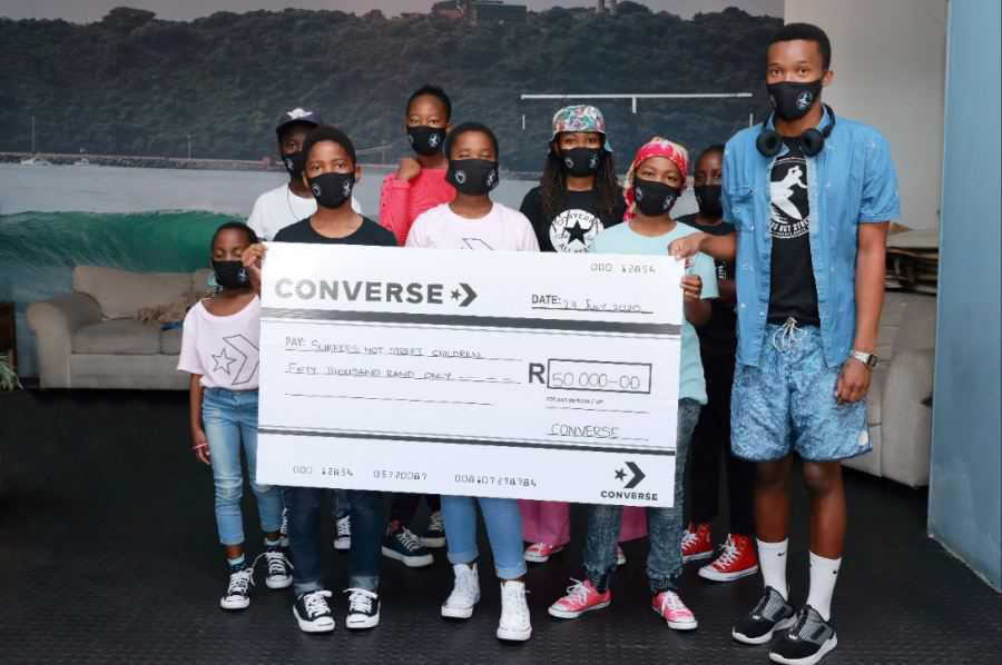 Converse Donation to Surfers Not Street Children