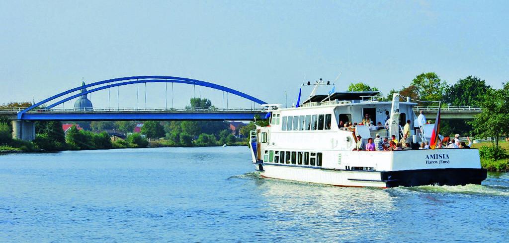 Fahrgastschiff Amisia