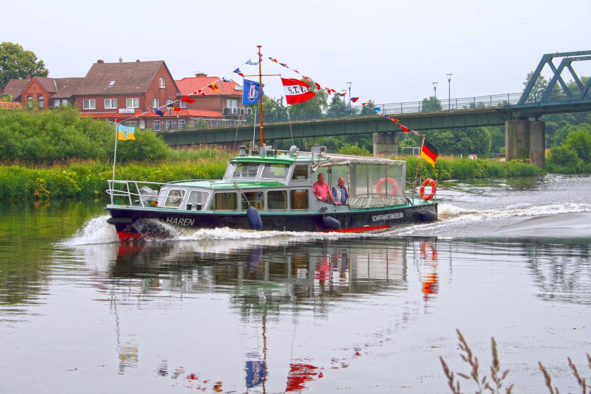 """Bootsfahrten mit der """"MEPPEN"""""""