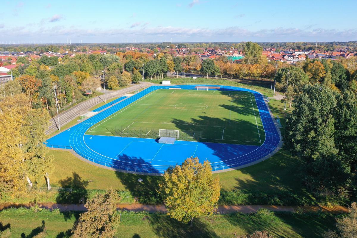 Neues Emspark-Stadion ist fertiggestellt