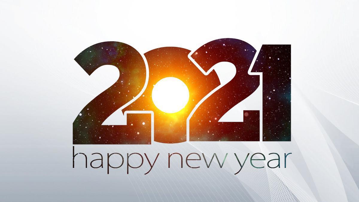 Die besten Wünsche für das neue Jahr