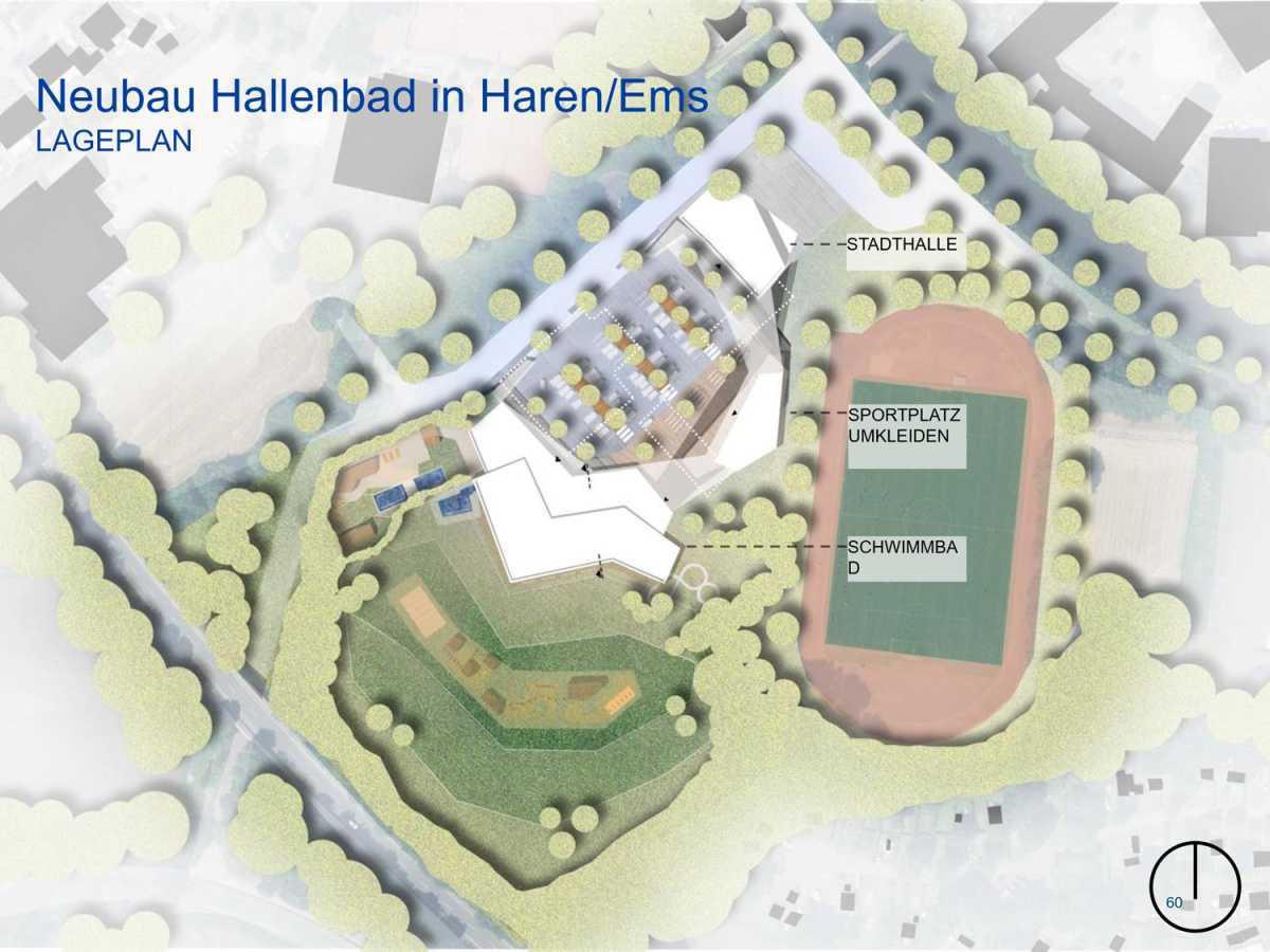 Neues Hallenbad in Haren: ab 2023 mit Röhrenrutsche