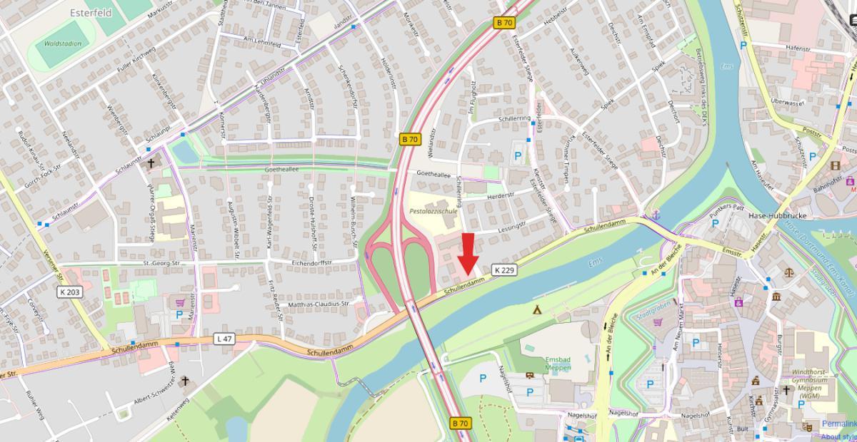 Neuer Pendlerparkplatz in Meppen