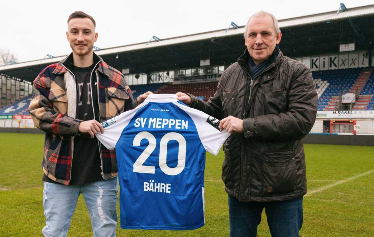 Mike-Steven Bähre wieder beim SV Meppen
