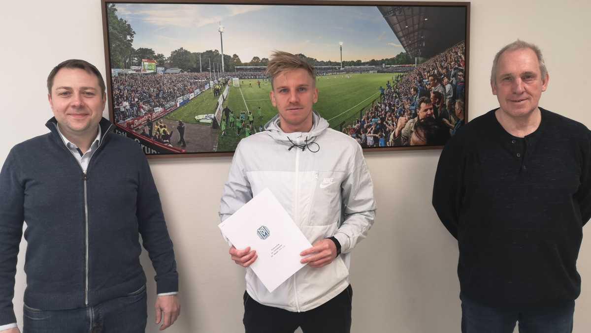 SV Meppen einigt sich mit Evseev