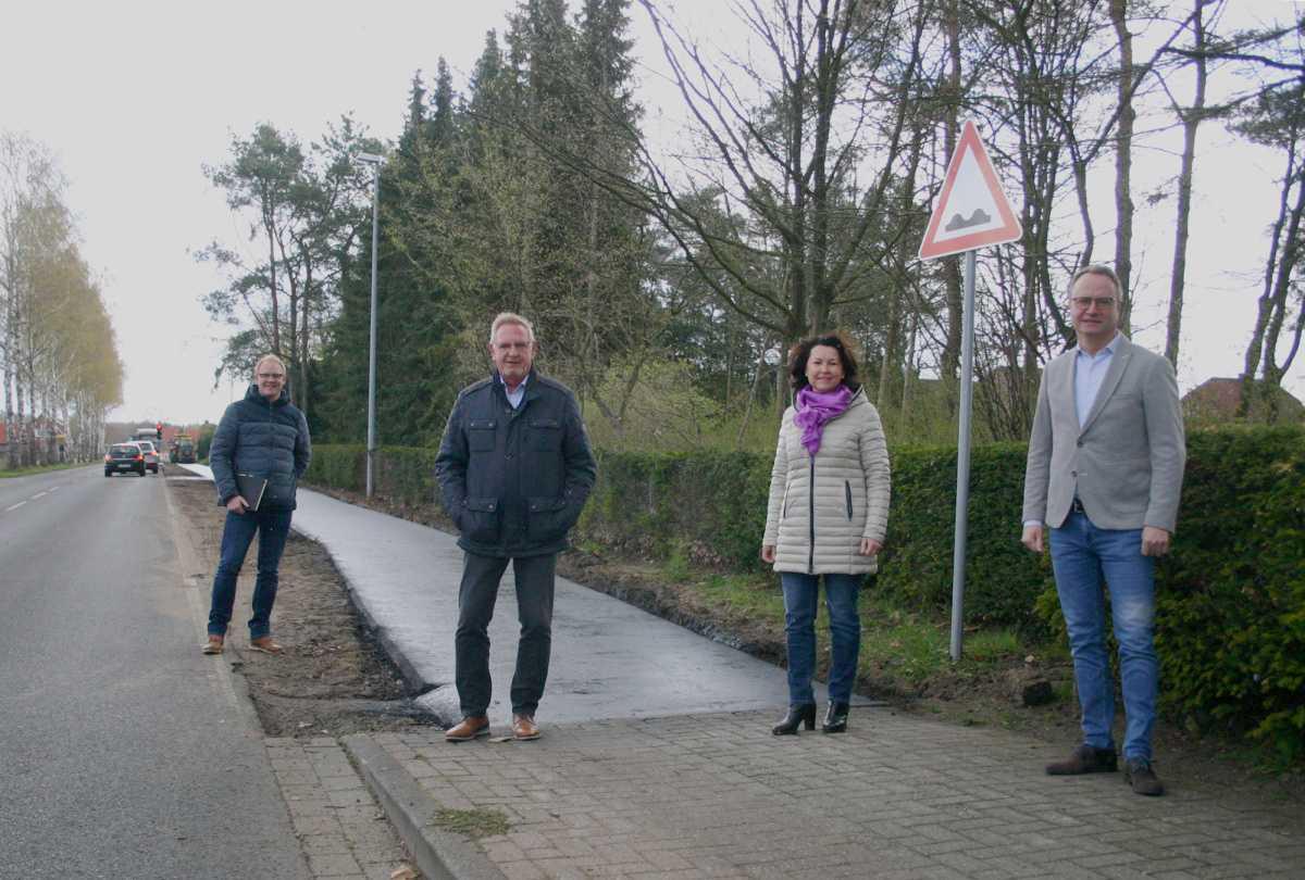 Radweg Tinner Weg wird saniert
