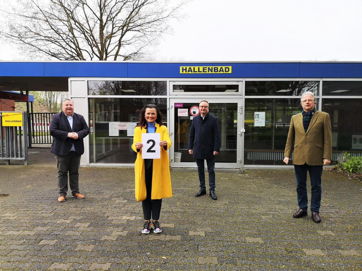 Hallenbad Neubau in Haren wird mit 2-Millionen-Euro-Finanzspritze unterstützt