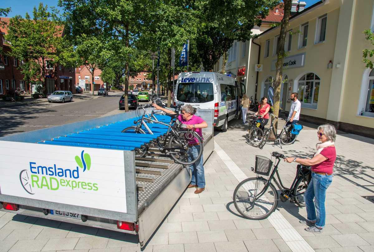 """""""Emsland RADexpress"""" startet Fahrradsaison 2021"""