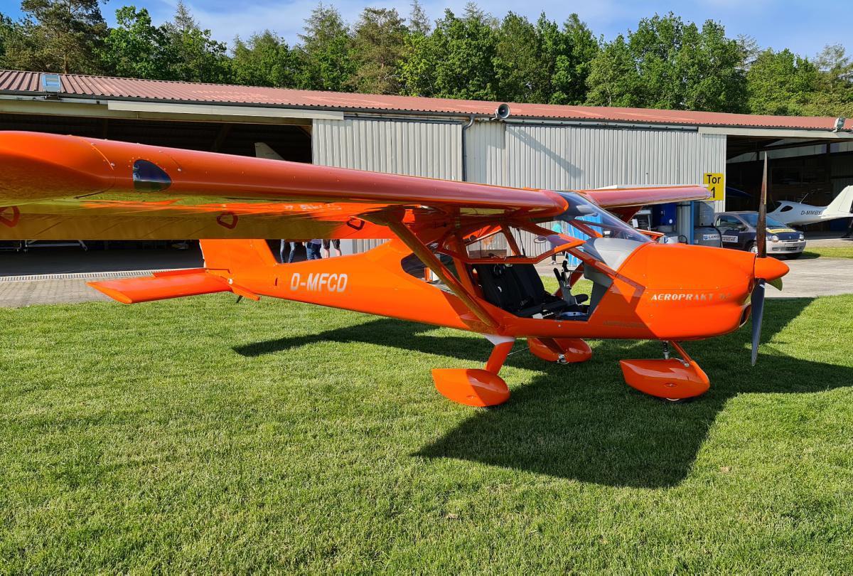 Neues Flugzeug des Fliegerclubs Haren-Dankern e.V.