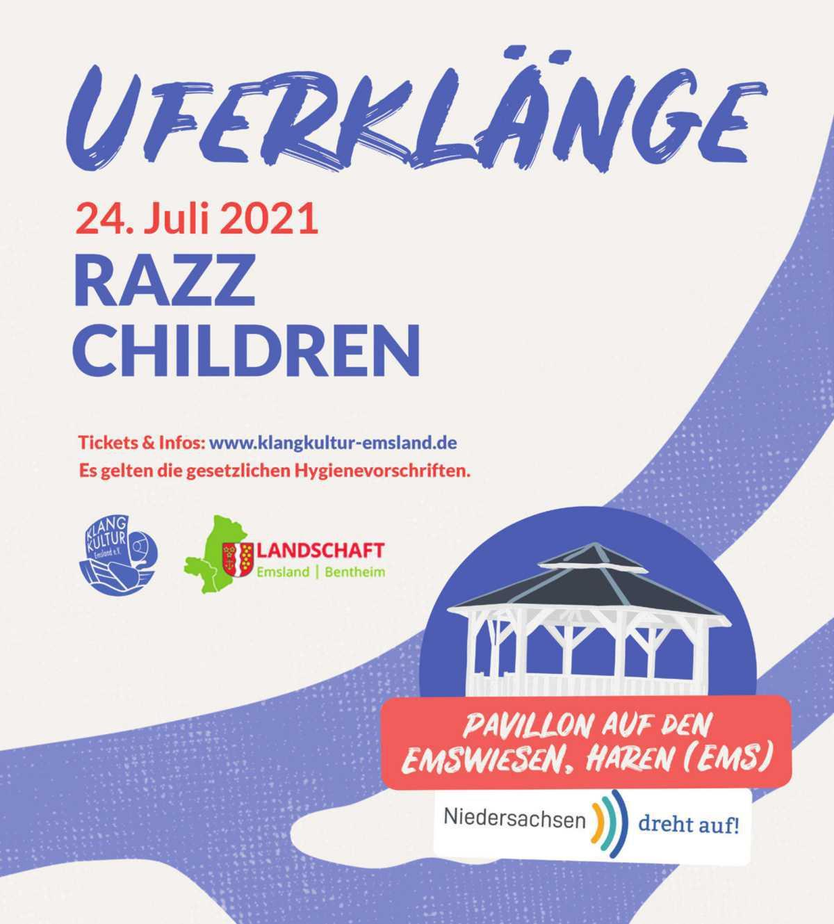 """""""Uferklänge"""" 24/07 - RAZZ & CHILDREN"""