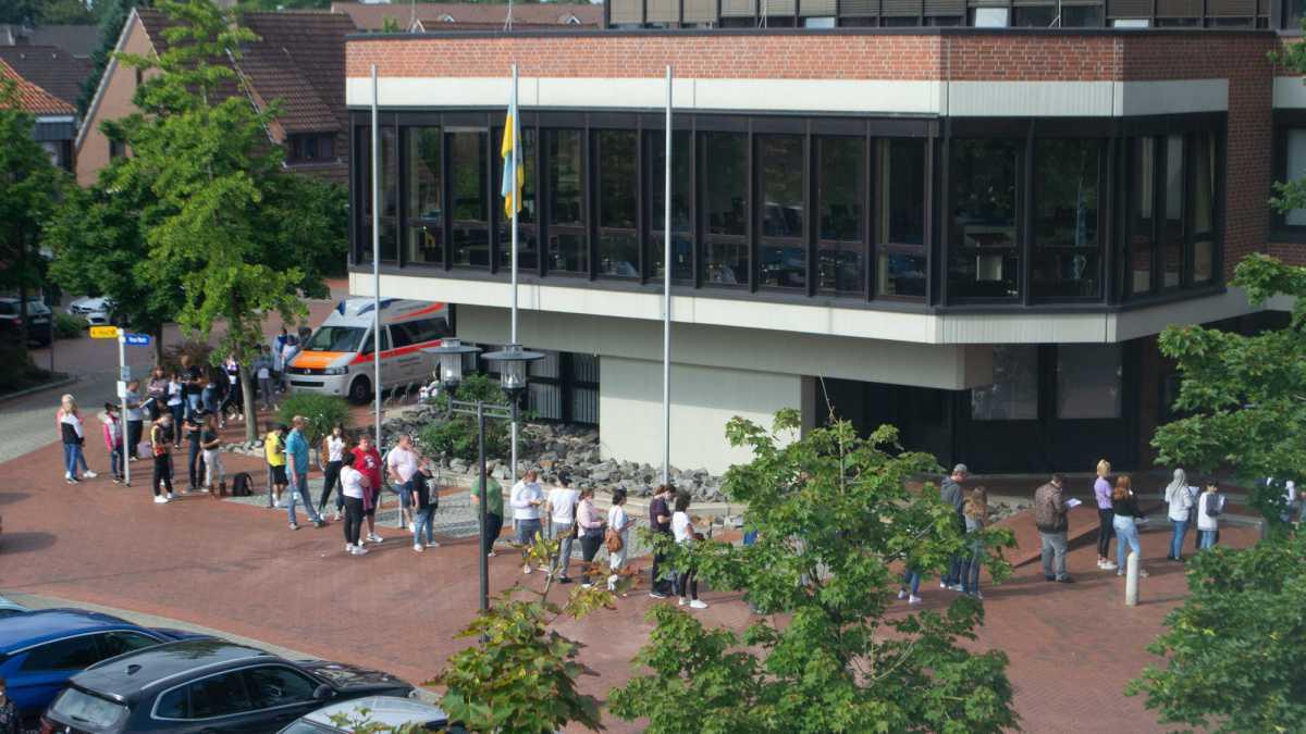 Impfungen im Harener Rathaus