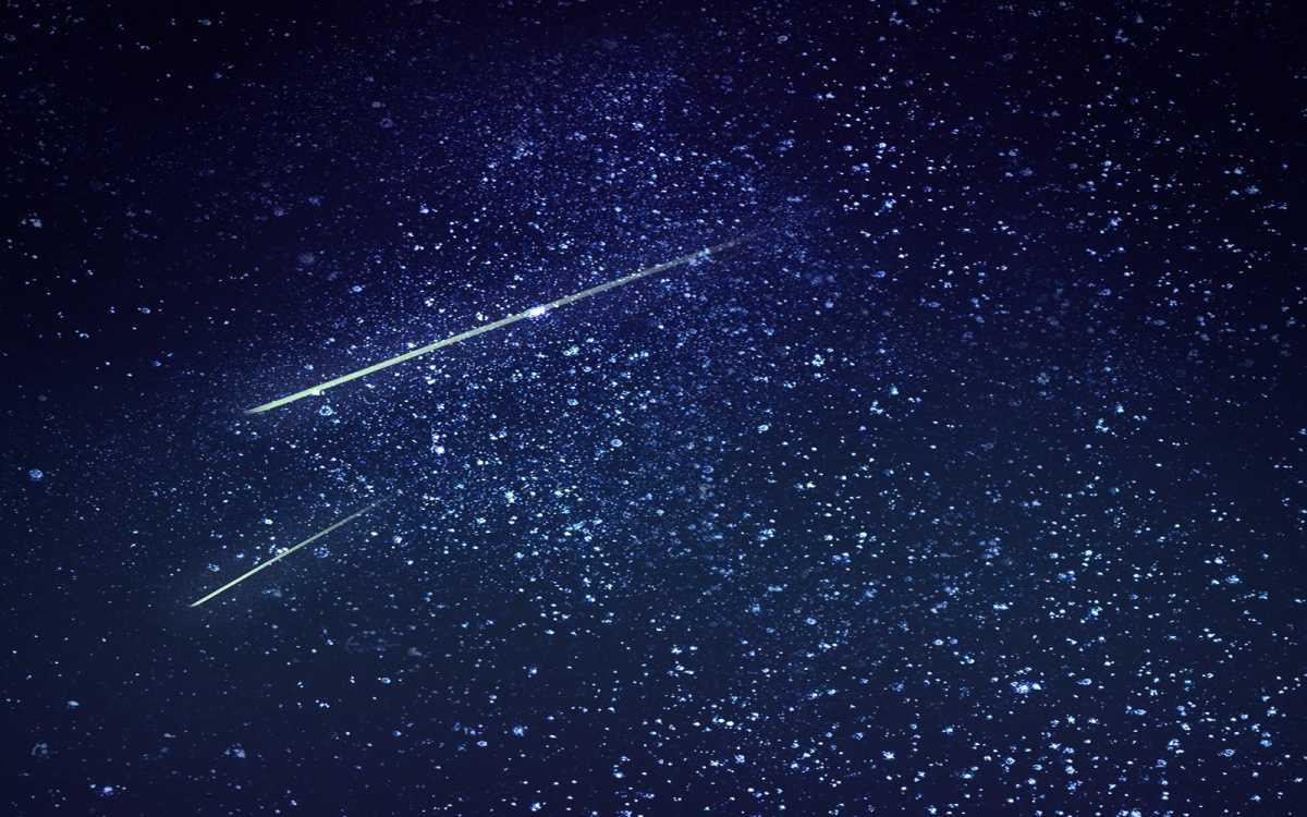 Perseiden Meteorregen ist im Anmarsch