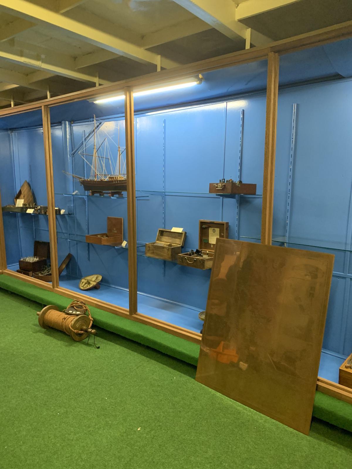 Modernisierungen im Schifffahrtsmuseum laufen