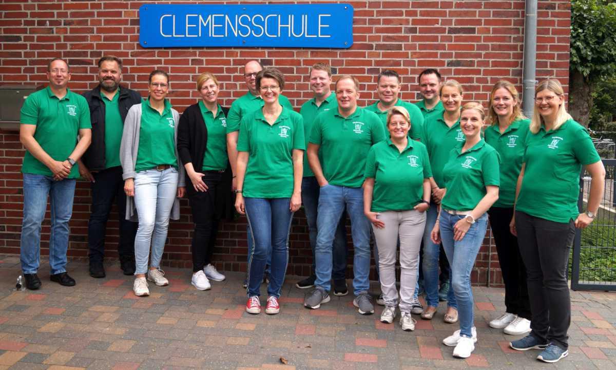 Einschulung an der Clemensschule Wesuwe