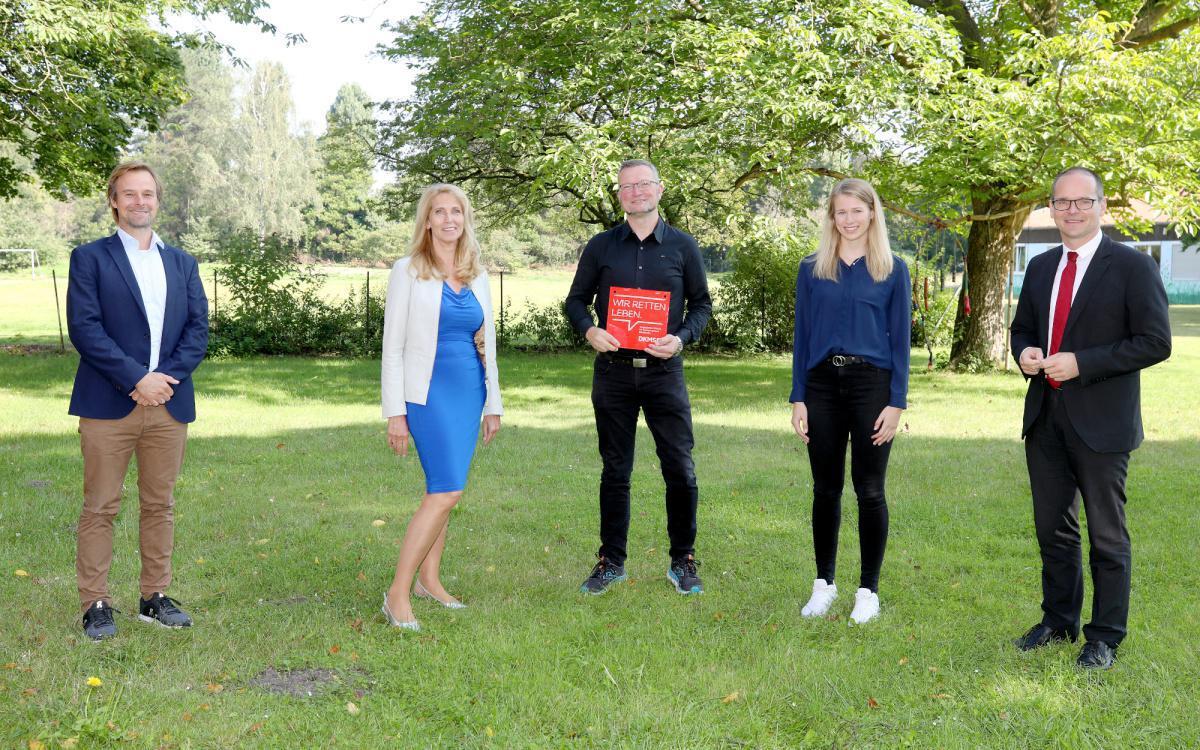 Gymnasium Marianum Meppen mit DKMS-Schulsiegel ausgezeichnet