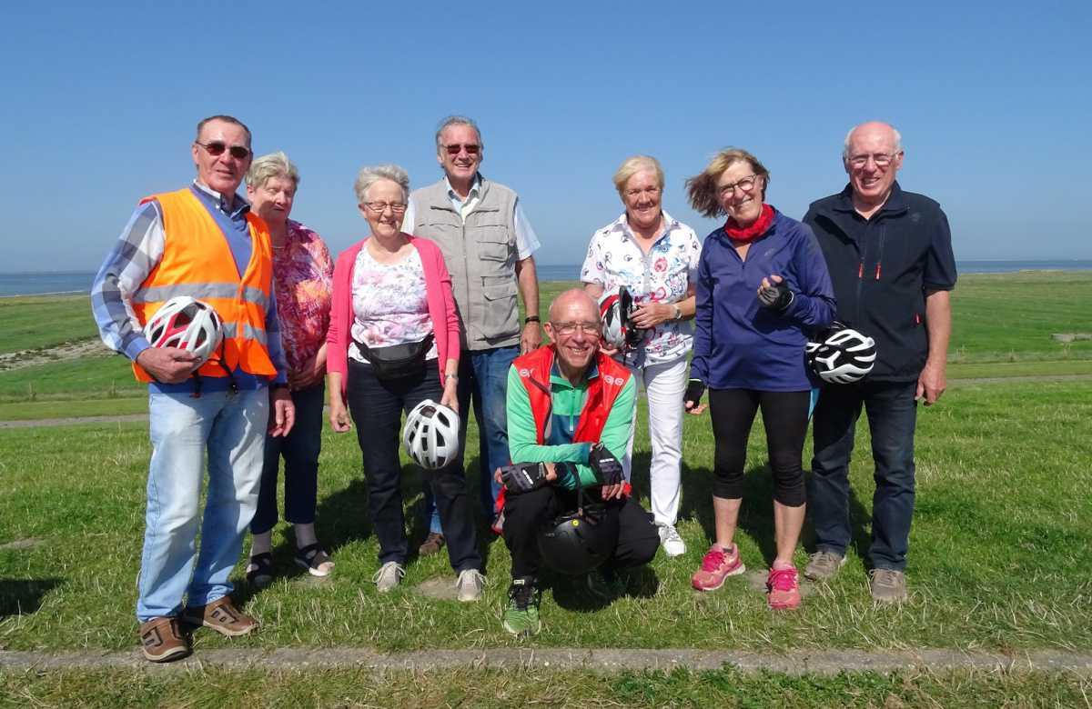 Radfahrer-Gruppe der Seniorenvertretung