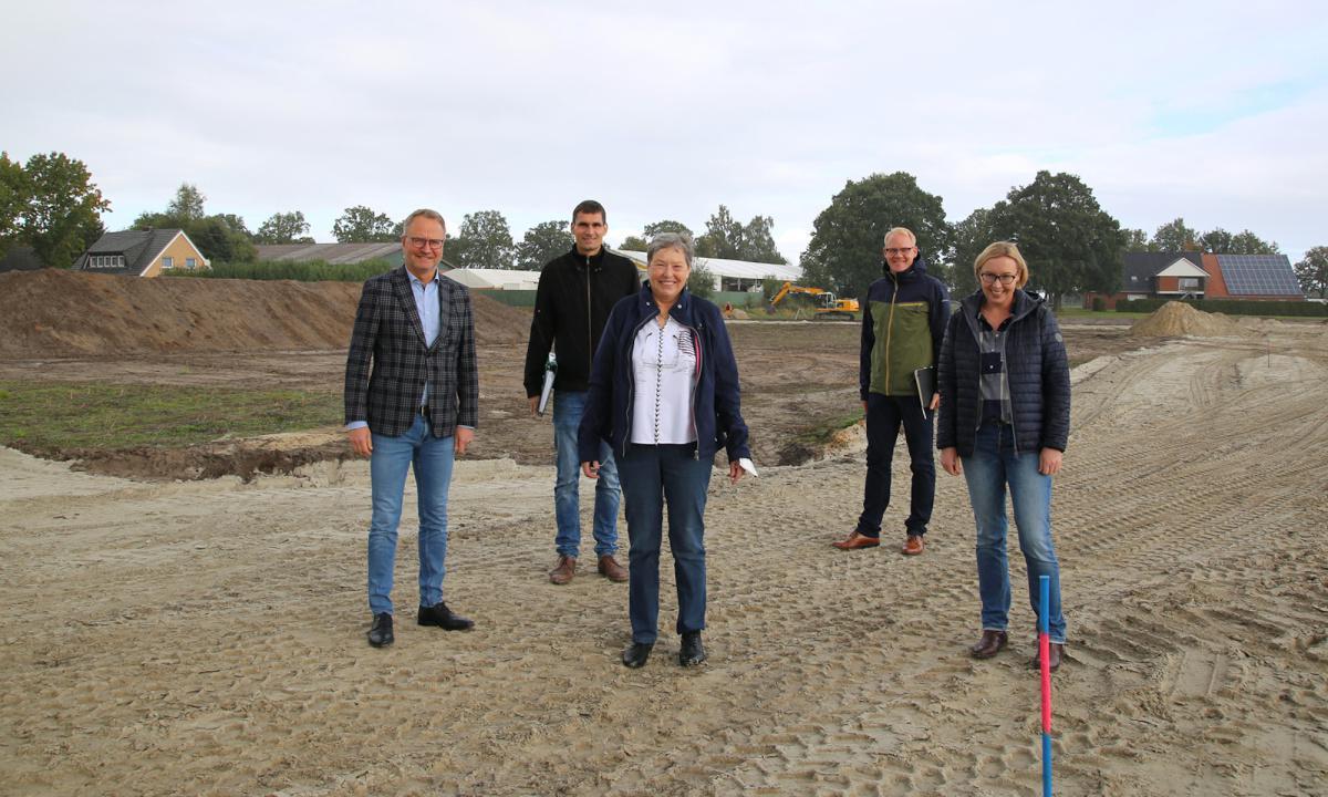 Neues Baugebiet in Haren-Erika wird erschlossen
