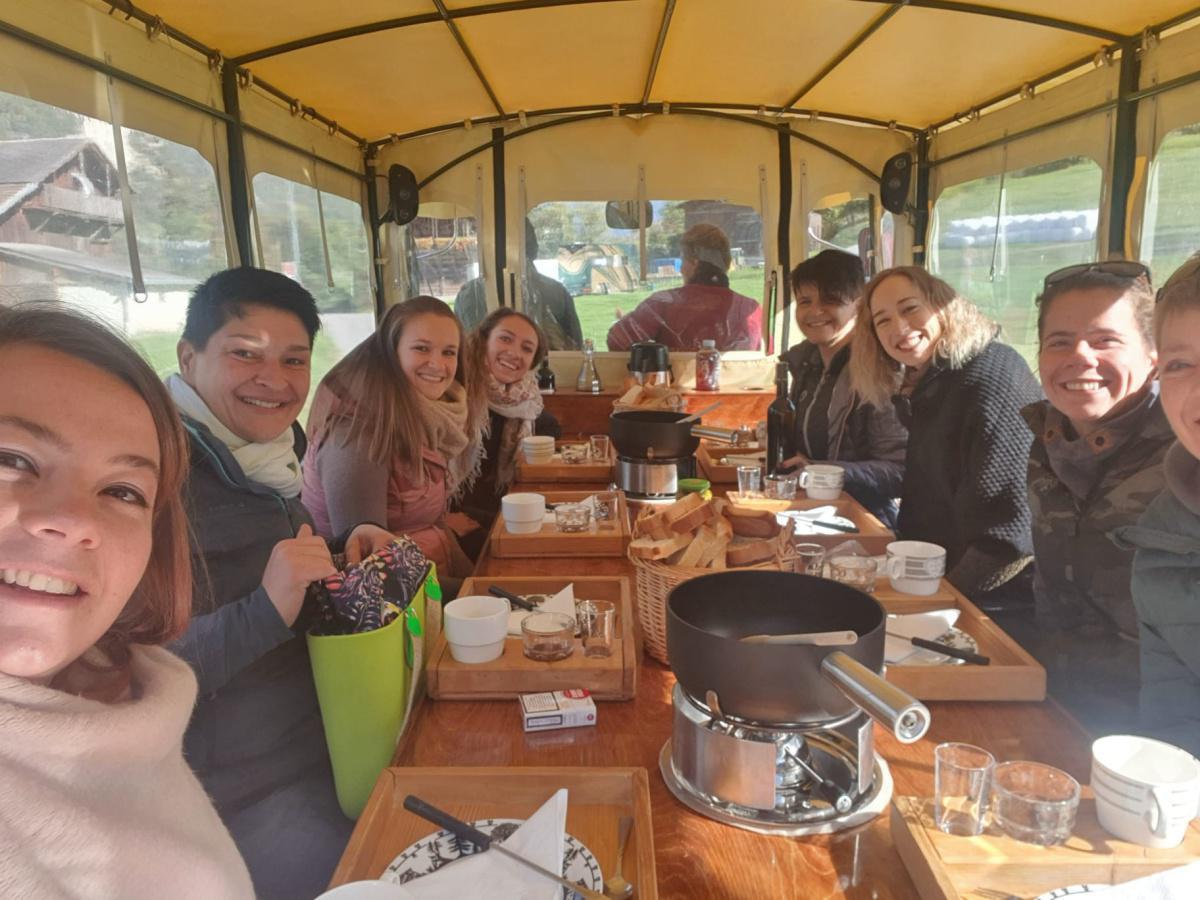 Team La Ferme des Moulins - Char à fondue