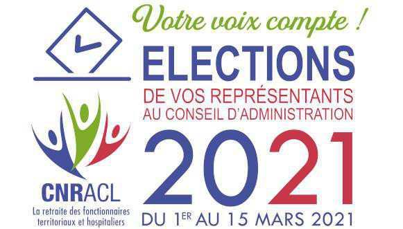 ÉLECTIONS 2021 de vos représentants au Conseil d'Administration