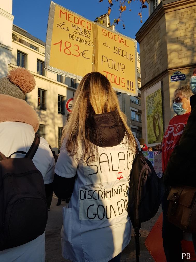 Secteurs médico-social, social, enfance et petite enfance public & privé dans la grève et la mobilisation ce 8 décembre