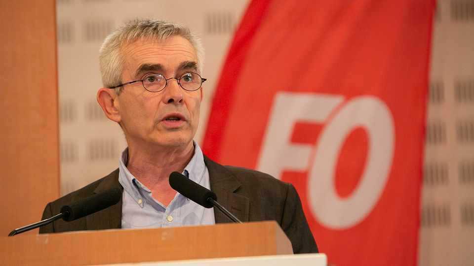 Yves Veyrier, Secrétaire général de FO, était l'invité de France Info